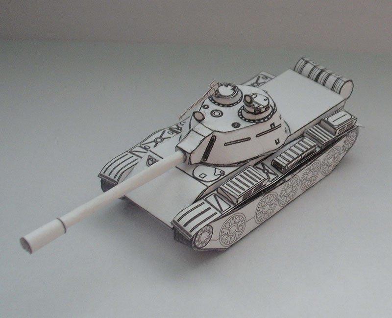 Картинки модели танков для склеивания