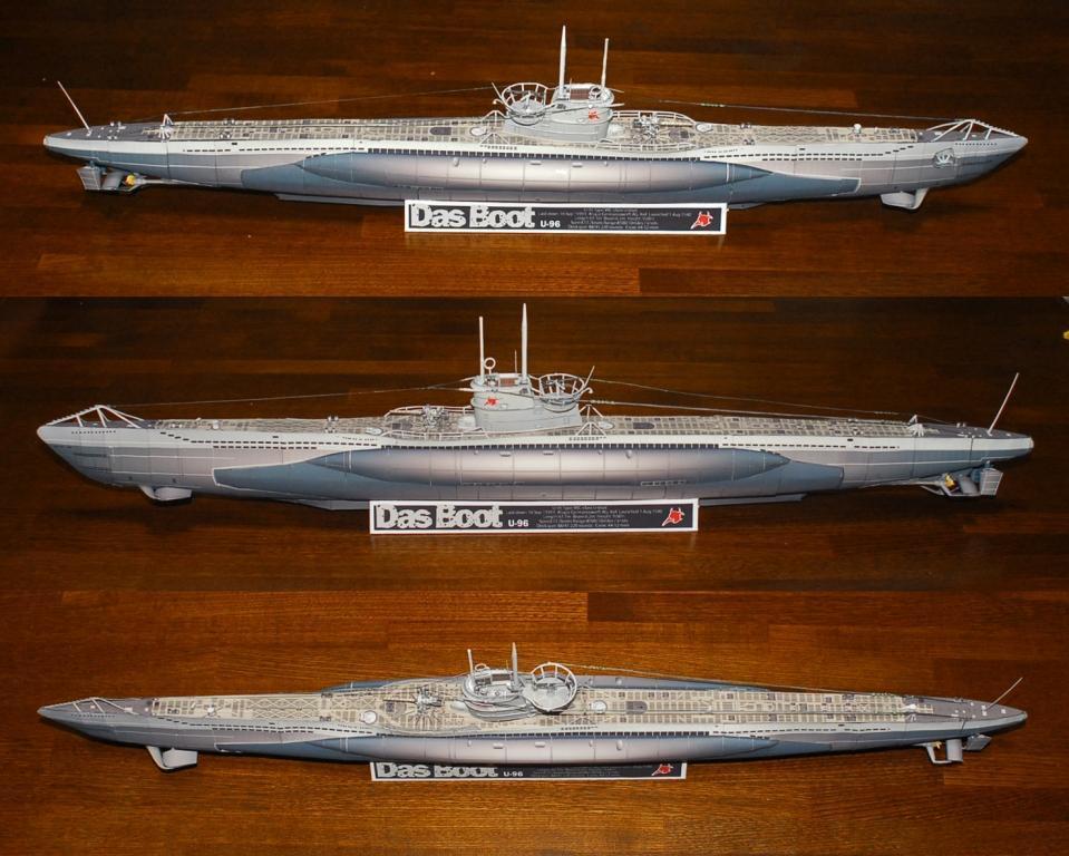 Поделка своими руками - подводная лодка 57