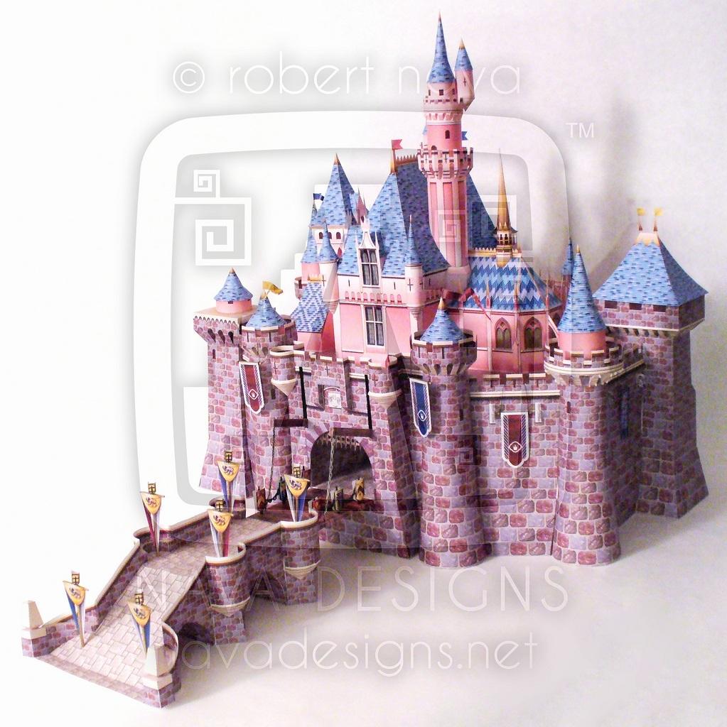 Схема замок из картона своими руками