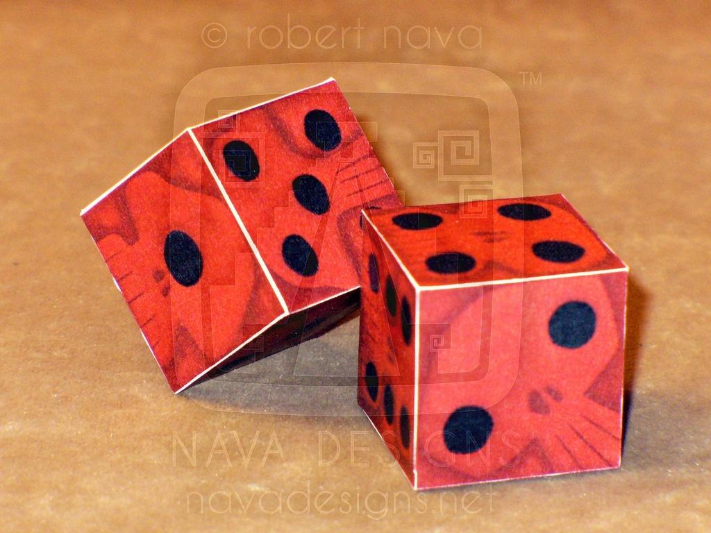 Игральные кубики своими руками фото 618