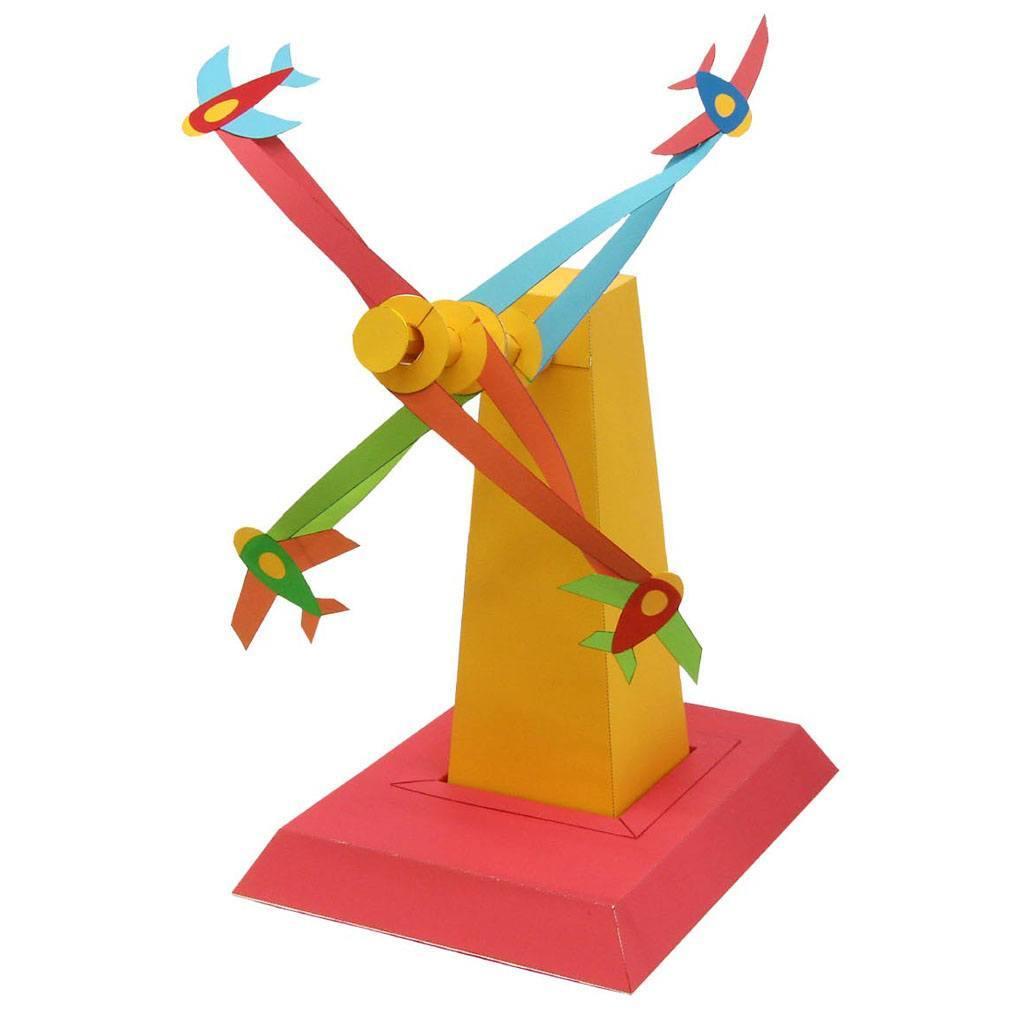 Схемы сборки движущихся моделей оригами 55