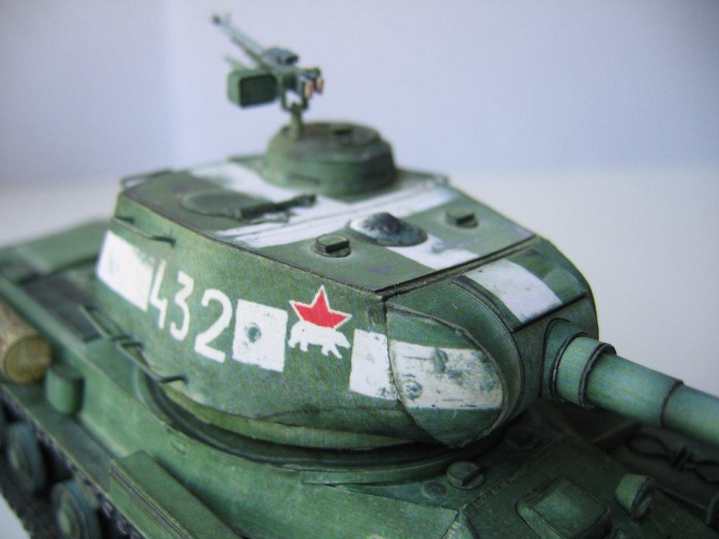 танк инструкция из картона