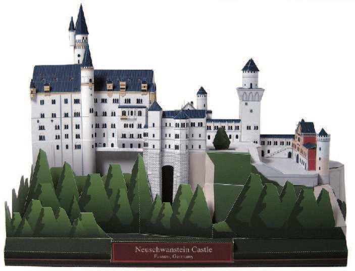 Модели замка своими руками