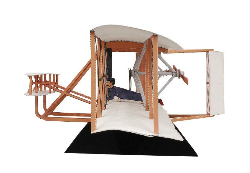 модель самолета бртьев райт того чтобы