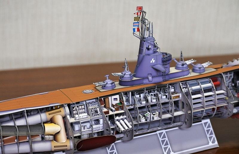 Действующие модели подводных лодок своими руками 87